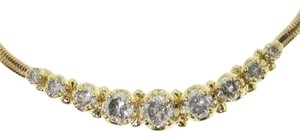 DIAMONDSY Wholesale - 1.75 Carat Tw Diamond Necklace 14k yellow gold - must see