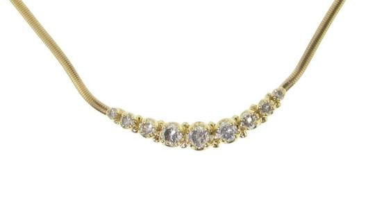 Other Wholesale - 1.75 Carat Tw Diamond Necklace 14k yellow gold - must see