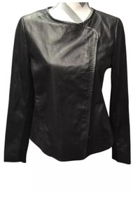 Vince Moto Biker Asymmetrical Sleek Motorcycle Jacket