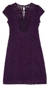Nanette Lepore short dress Purple Short Sleeve on Tradesy