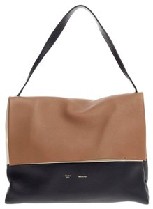 Céline Celine Leather Tote in Brown