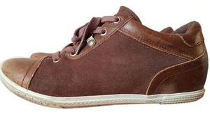 Timberland Wedge Leather Brown Wedges