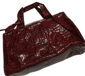 Renato Angi Satchel in burgundy