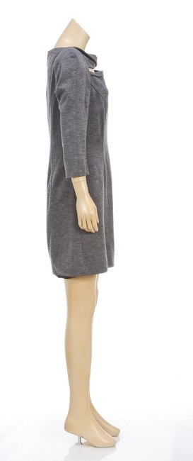Diane von Furstenberg short dress Gray on Tradesy