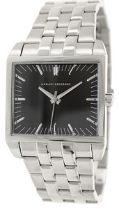 Armani Exchange Armani Exchange Men's AX2213 Silver Stainless-Steel Quartz Watch