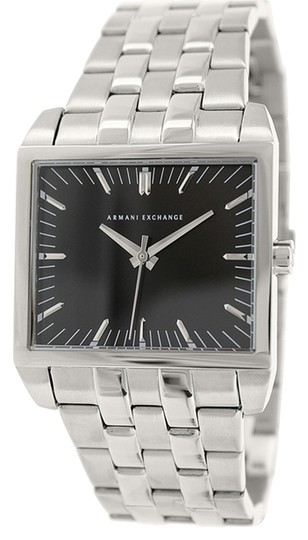 A|X Armani Exchange Armani Exchange Men's AX2213 Silver Stainless-Steel Quartz Watch