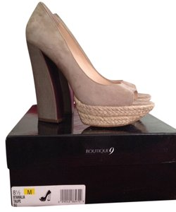 Nine West Bone Platforms