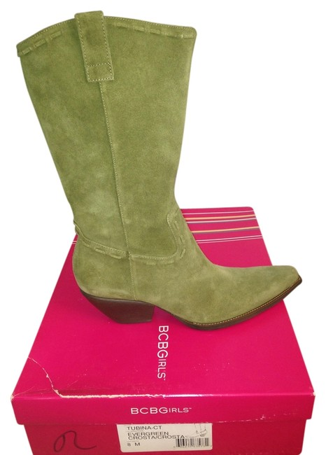 Item - Green Tubina Boots/Booties Size US 8 Regular (M, B)