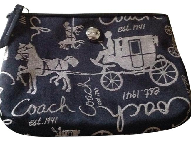 Item - Black and White Make Up Cosmetic Bag