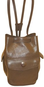 Two Bar West Refurbished Leather Backpack