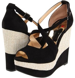 Luichiny Black Wedges