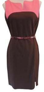 Etcetera Sleeveless Belted Dress
