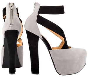 Luichiny Black/Grey Platforms