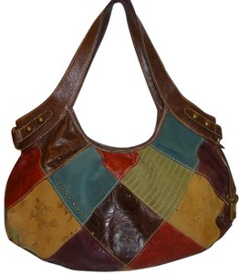 Fossil Refurbished Patchwork Hobo Bag