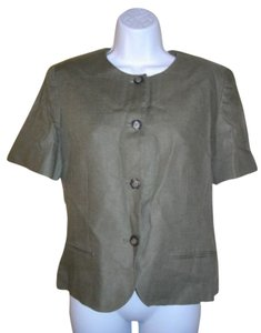 Liz Claiborne Top Olive green