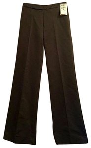 Ralph Lauren Black Label Silk Wide Leg Pants black