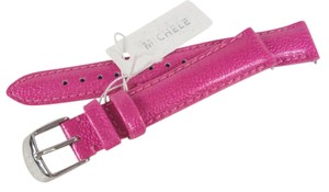 Michele Michele MS16AA350653 16mm Pink Patent Leather Watch Strap Band