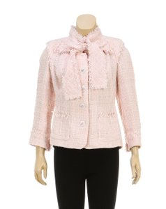 Chanel Pink Womens Jean Jacket
