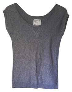 American Eagle Outfitters Ae Shirt Top Gray