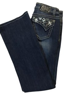 Cello Jeans Boot Cut Pants Blue Jean