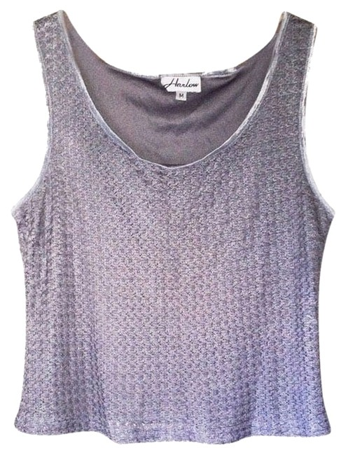 Preload https://img-static.tradesy.com/item/1812567/vintage-gray-grey-cropped-tank-shirt-blouse-size-8-m-0-0-650-650.jpg