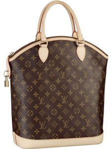 Louis Vuitton Lockit Vertical Monogram Pm Tote in brown