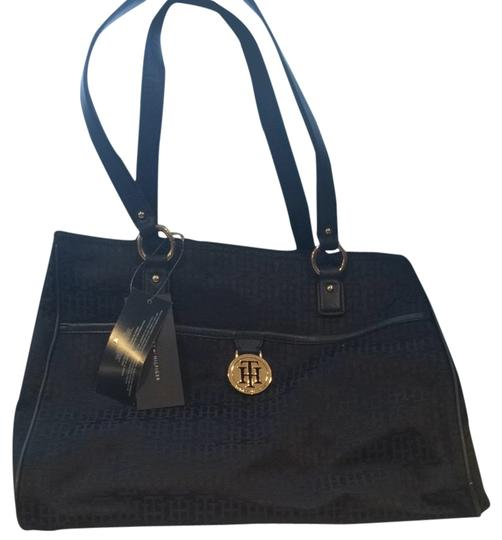 Preload https://item5.tradesy.com/images/tommy-hilfiger-black-tote-1812704-0-0.jpg?width=440&height=440