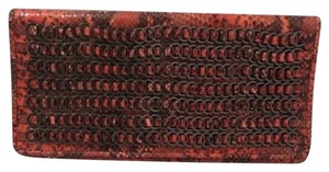 Hervé Leger Red Clutch