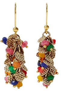 Rosantica Il Mondo gold-tone bead earrings