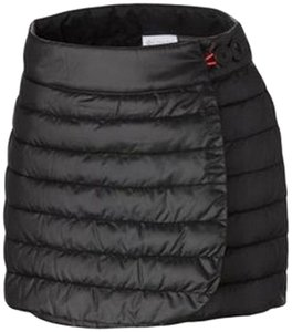 Columbia Quilted Mini Skirt Black