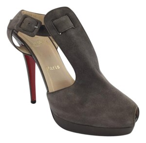 Christian Louboutin Gray Platforms