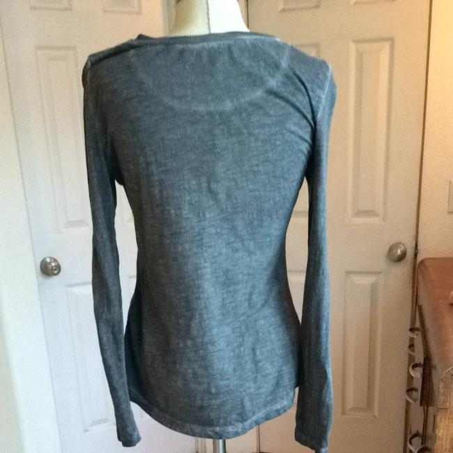 Free People Top charcoal