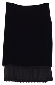 Max Studio Skirt Black.