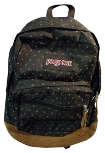 JanSport Big Student Pack Leather Multi Pocket Backpack