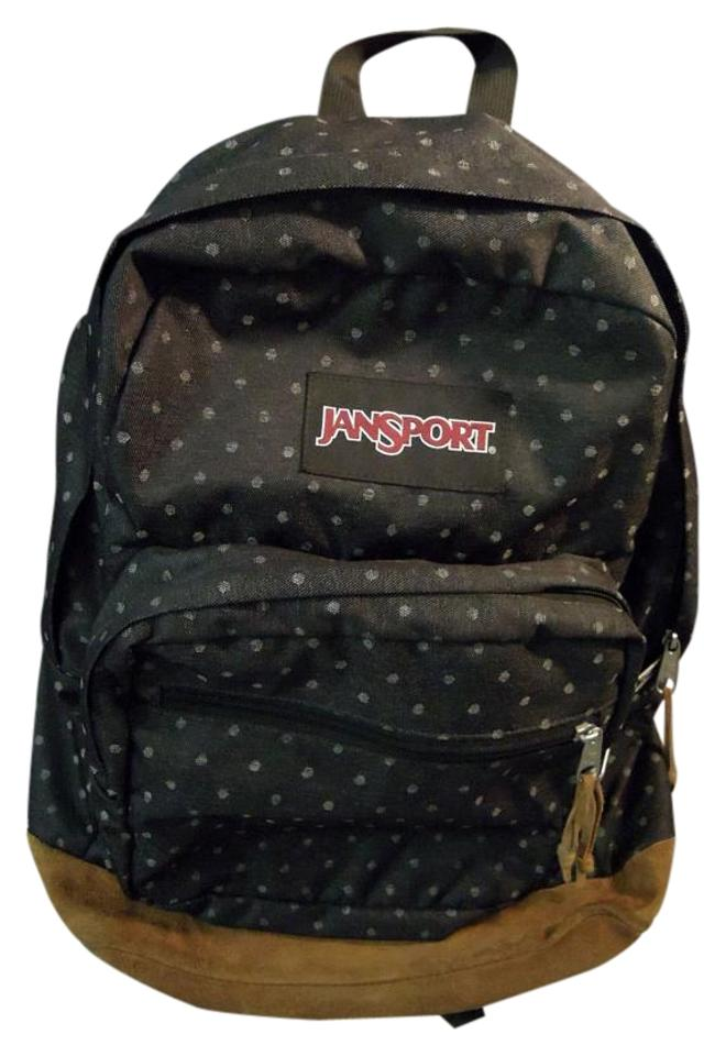 JanSport Tzr6-big Student Black with Design Nylon Backpack - Tradesy