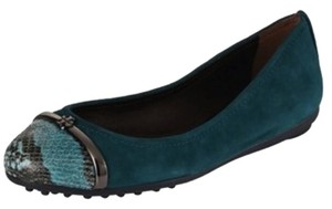 Tory Burch Pacey Deep Sea Blue/ multi Flats