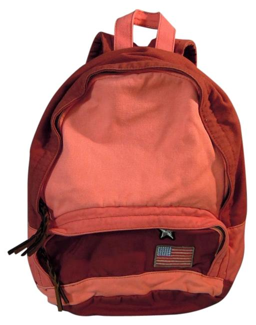 Item - 54485-student Orange and Red Cotton Backpack