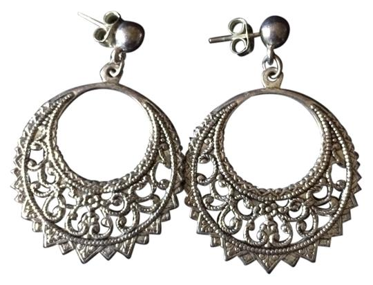 Indie Indie Sterling Silver Earrings Brand New From India
