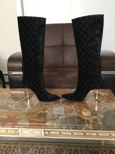 Gucci Tom Ford Black Boots