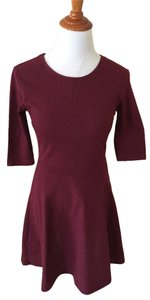Topshop short dress Red on Tradesy