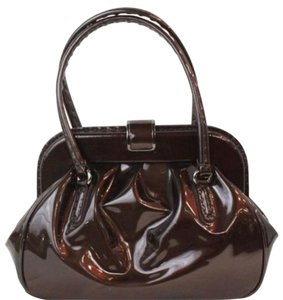 Giorgio Armani Georgio Patent Shoulder Bag