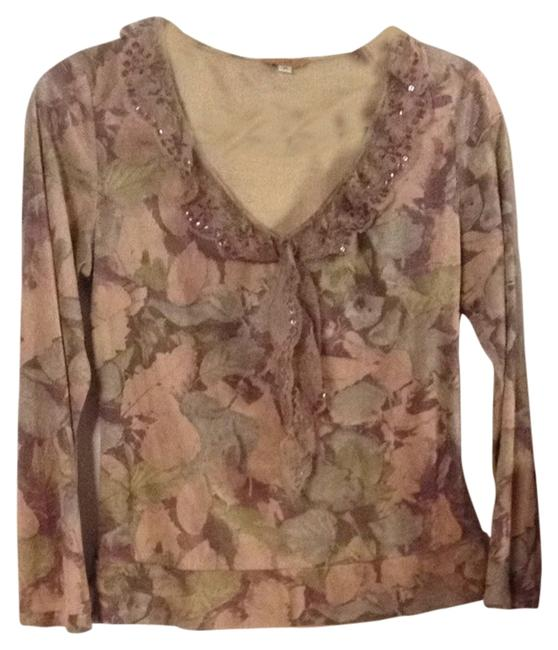 Preload https://item4.tradesy.com/images/tan-lavender-multi-ff-blouse-size-8-m-1813148-0-0.jpg?width=400&height=650