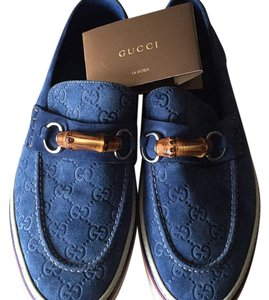 Gucci Denim blue Flats