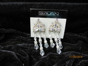 Giavan Beaded Crystal Chandelier T59e - E-27