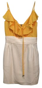 Single short dress Yellow on Tradesy