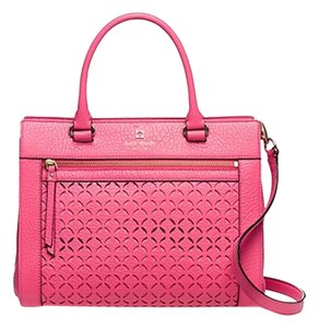 Kate Spade Ks Mk Chanel Satchel in caberet pink