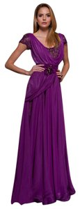 MNM Couture Evening Glam Long Luxury Gown Dress