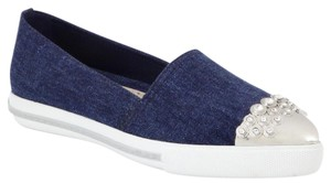 Miu Miu Denim with silver Flats