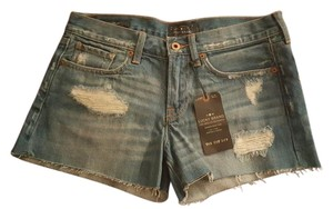 Lucky Brand Cut Off Shorts Distressed Denim