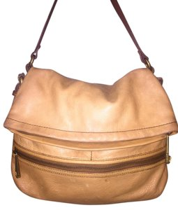 Fossil Leather Sydney Tan Shoulder Bag